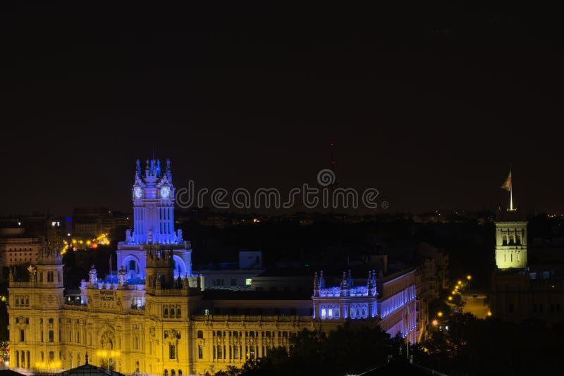 Madrid Spanje stock afbeelding