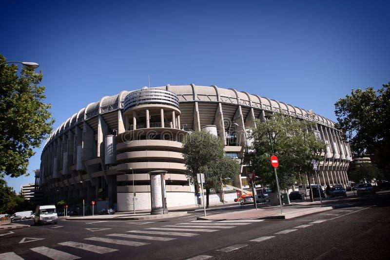 madrid verklig stadion arkivfoton