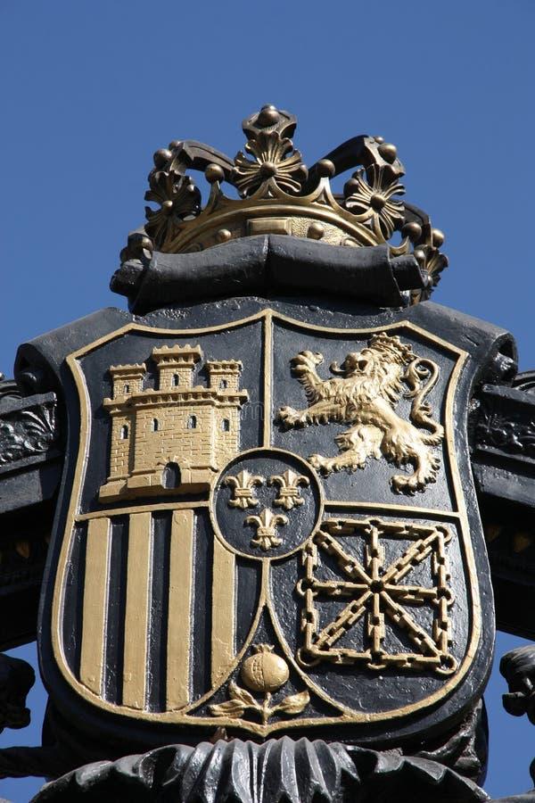 Madrid-Wappen lizenzfreie stockbilder