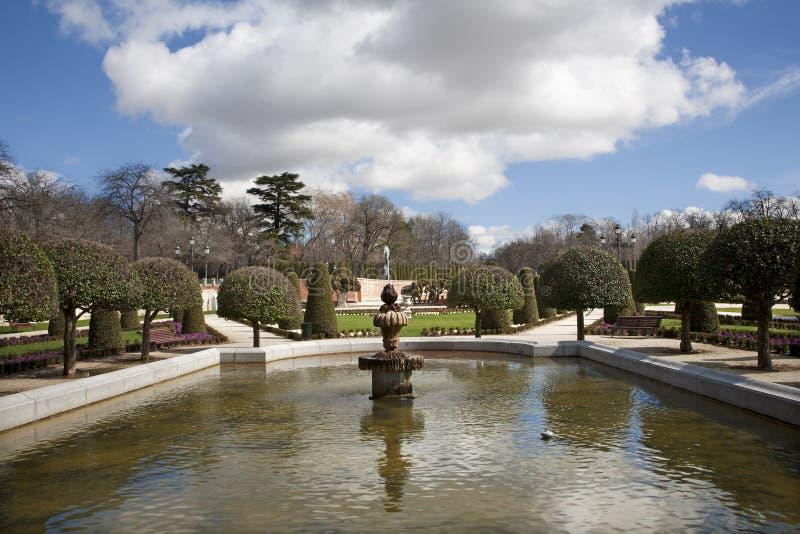 Download Madrid - Retiro Park Royalty Free Stock Photography - Image: 29884717