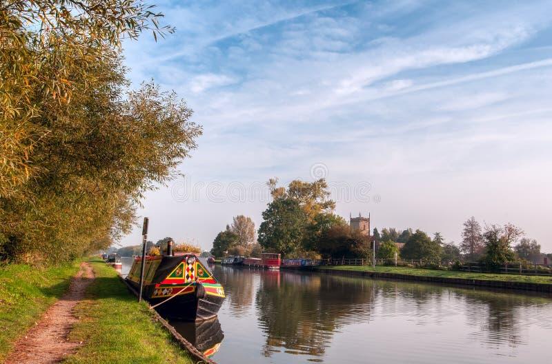 Madrugada del canal de Gloucester y de la agudeza foto de archivo