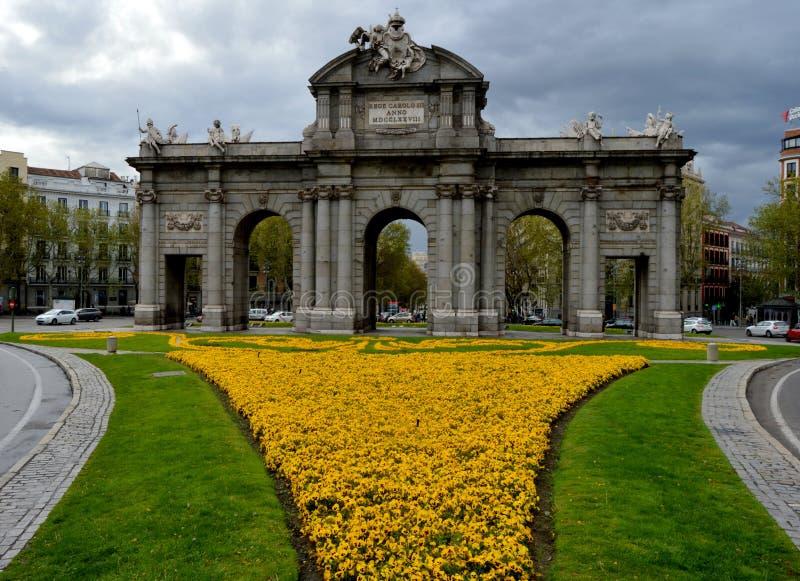 Madryt Hiszpania obraz royalty free