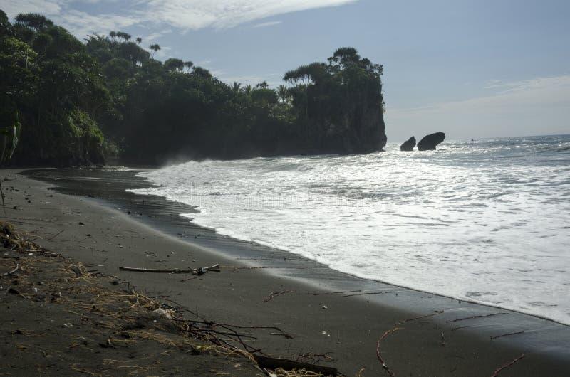 Madsari plaża obrazy stock
