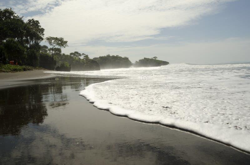 Madsari plaża fotografia stock