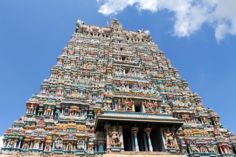 Madurai Meenakshi świątynia obraz royalty free