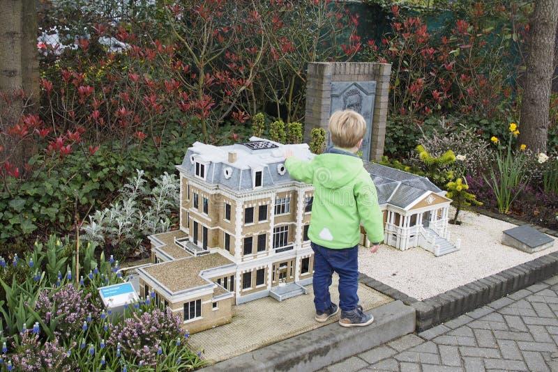Madurodam, Dutch Miniature Park royalty free stock images