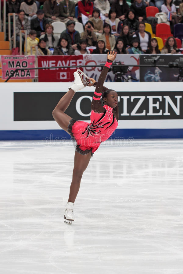 Download Mae Berenice MEITE, French Figure Skater Editorial Stock Image - Image: 21778434