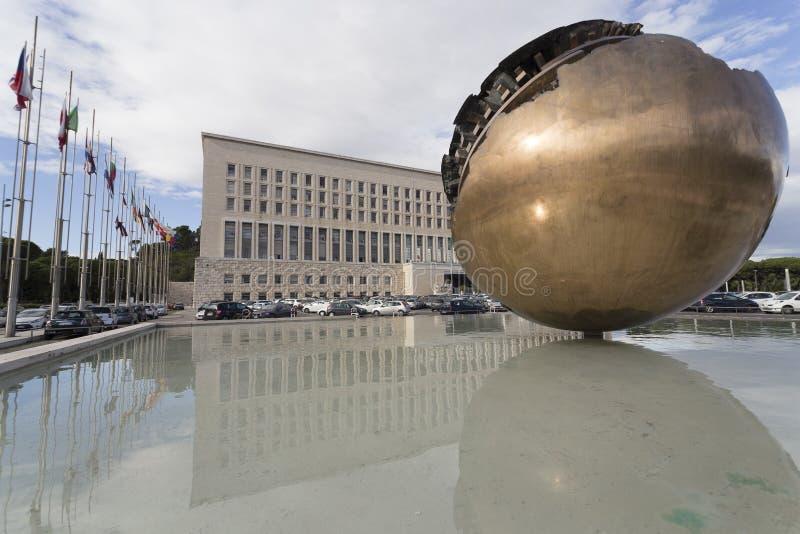 MAE, el Ministerio de Asuntos Exteriores italiano imagen de archivo libre de regalías