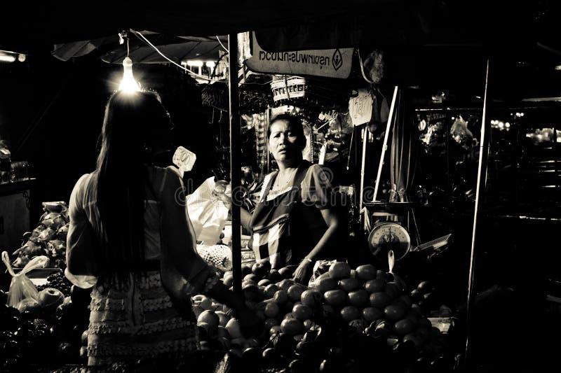 Mae-gim heng Markt in Korat, Thailand lizenzfreie stockfotografie