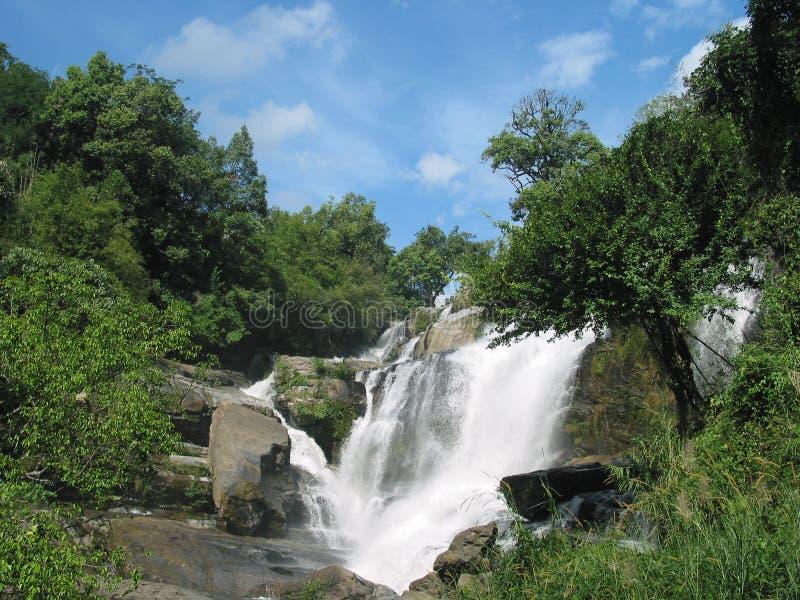 mae glang wodospad Thailand zdjęcie royalty free
