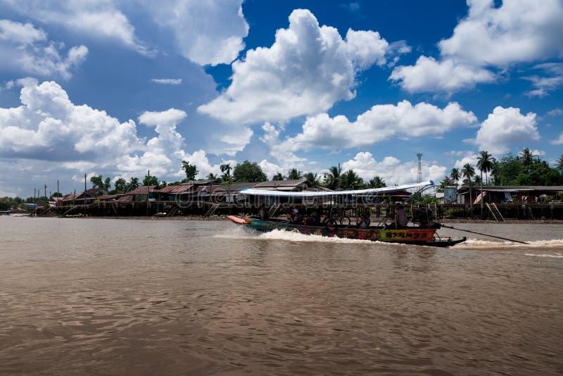 Mae Klong River Amphawa photo stock