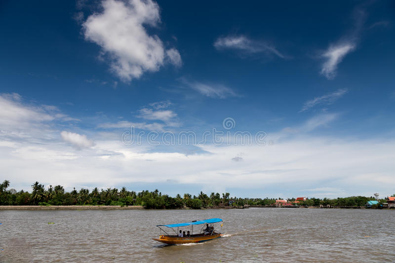 Mae Klong River Amphawa photo libre de droits