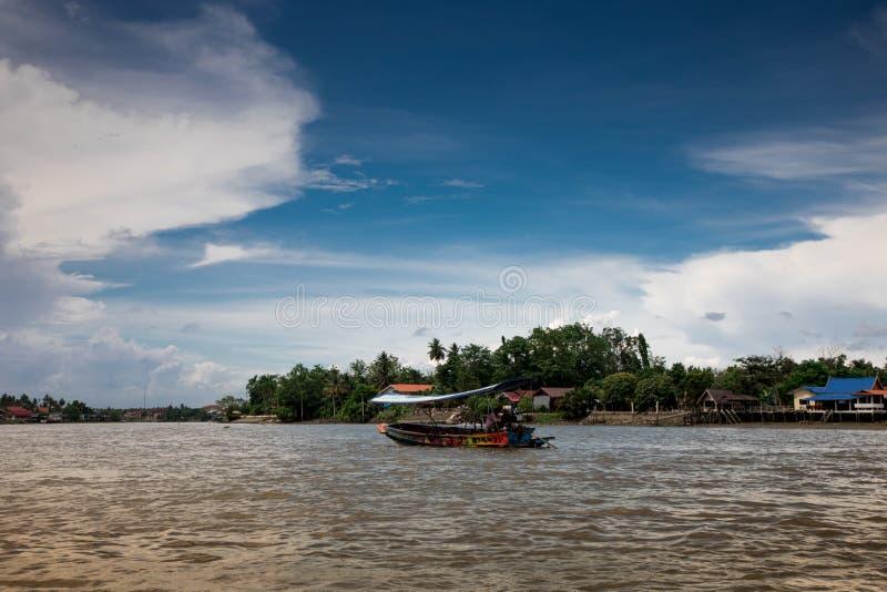 Mae Klong River Amphawa images stock