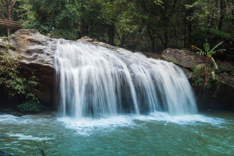 Mae Sa Waterfall. Near Chiang Mai, Thailand royalty free stock photo