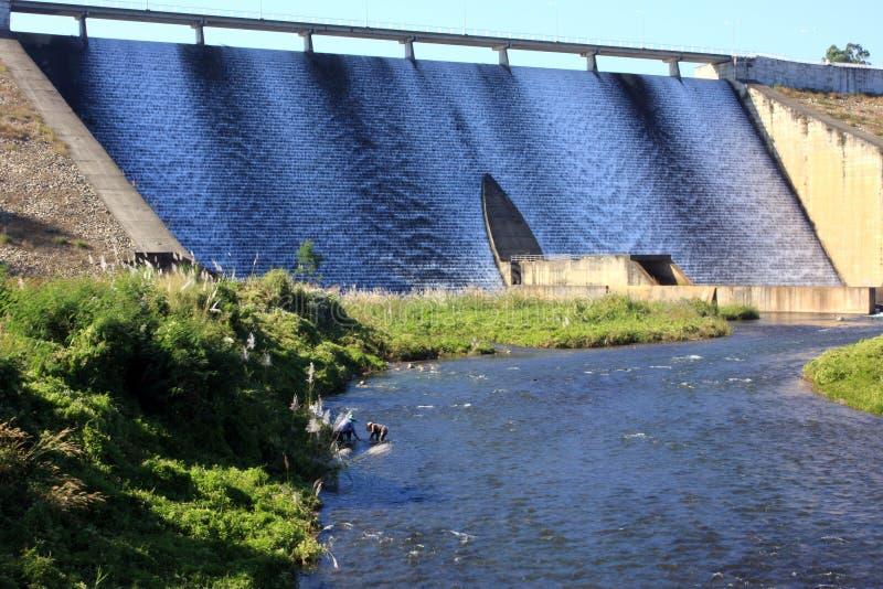 Mae-Suai Dam. At Chiang-Rai stock photo