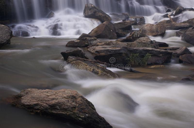 Mae Ya Waterfall, Chiang Mai, Thailand Stock Photos