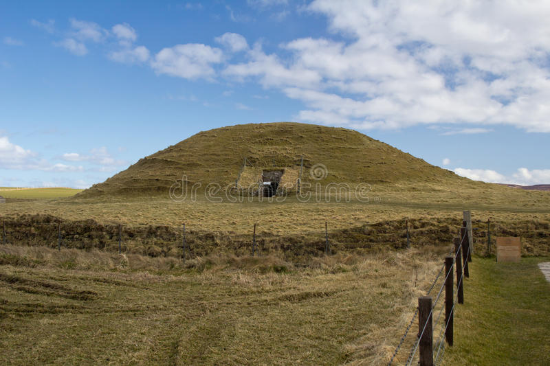 Maeshowe chambered cairn Orkney