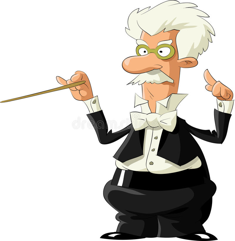 Maestro ilustração royalty free
