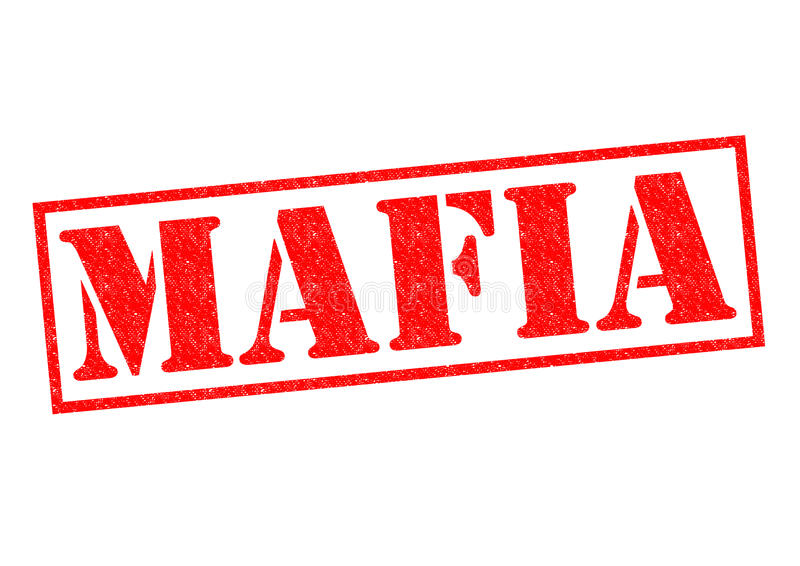 maffia stock illustrationer