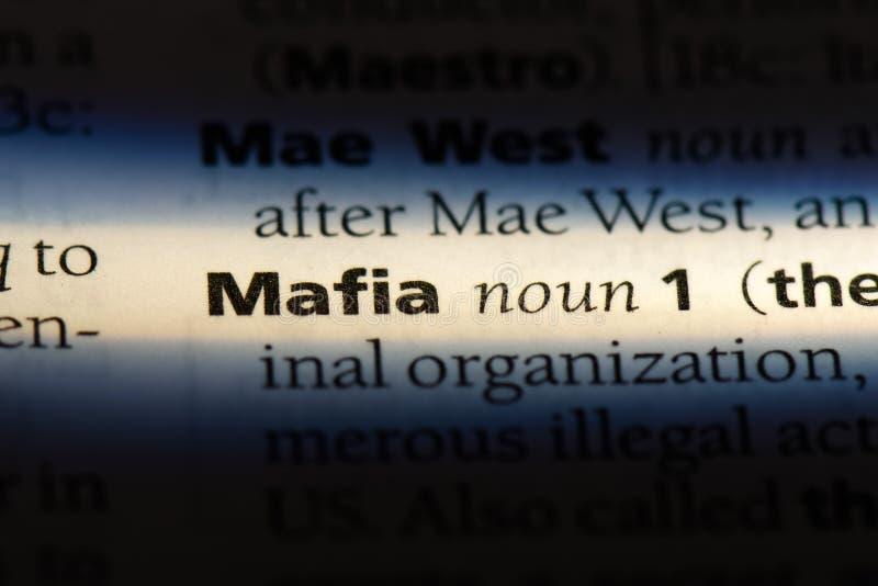 mafia immagine stock
