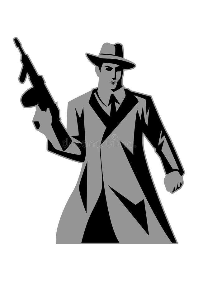 mafia stock de ilustración