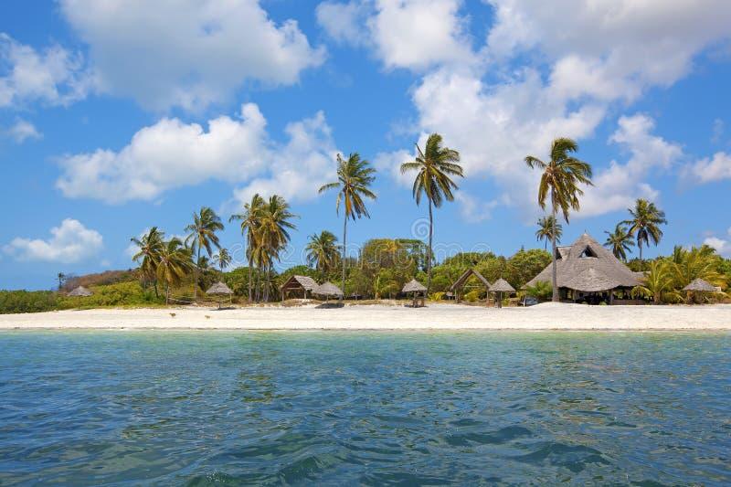 Mafia Island. Untouched nature at Mafia Island in Tanzania stock photos
