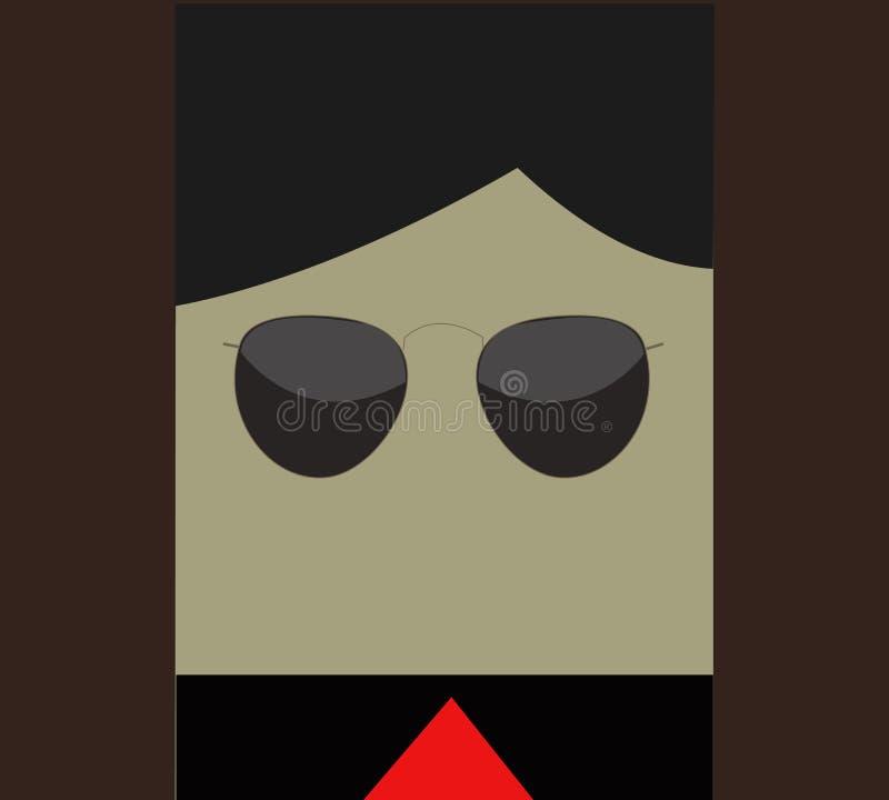 Mafia minimalista royalty illustrazione gratis
