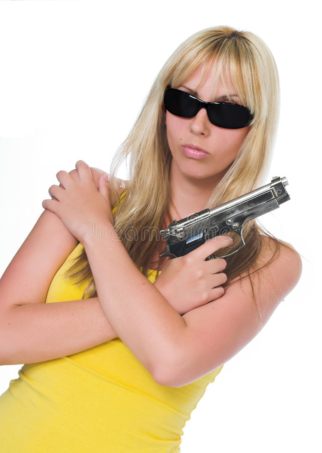 Mafia-Women stock photography