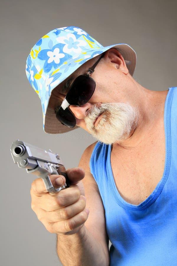 mafijny senior zdjęcia stock