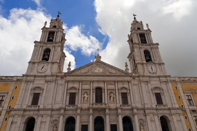 Mafra Kirche lizenzfreie stockbilder