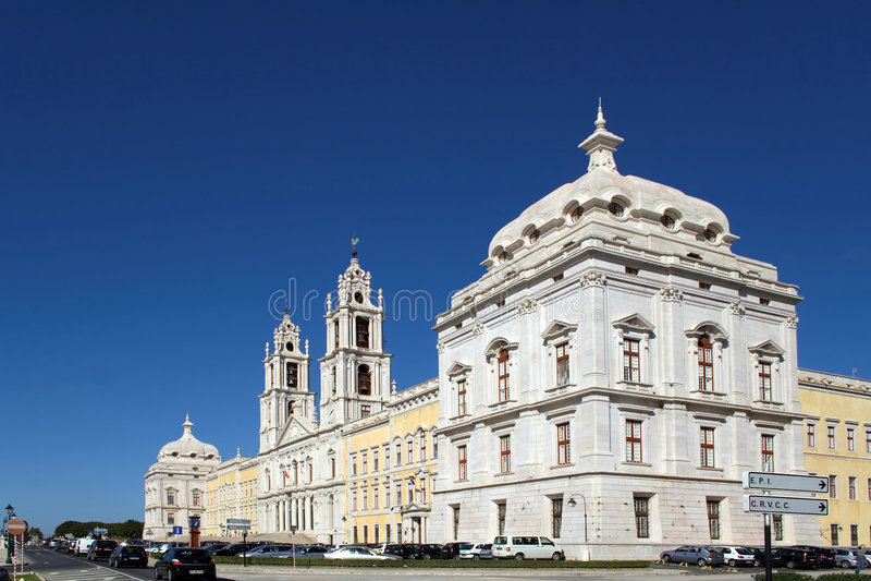 Mafra National Palace-Portugal royalty free stock image