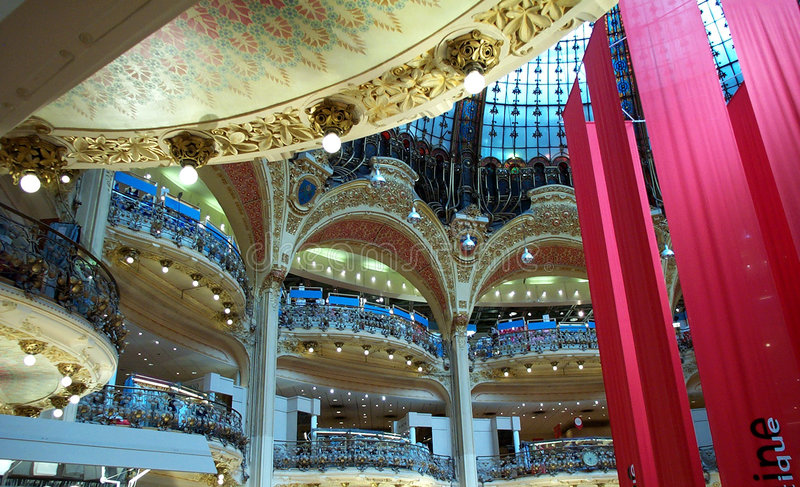 Magasin au Bon Marche royalty free stock photos