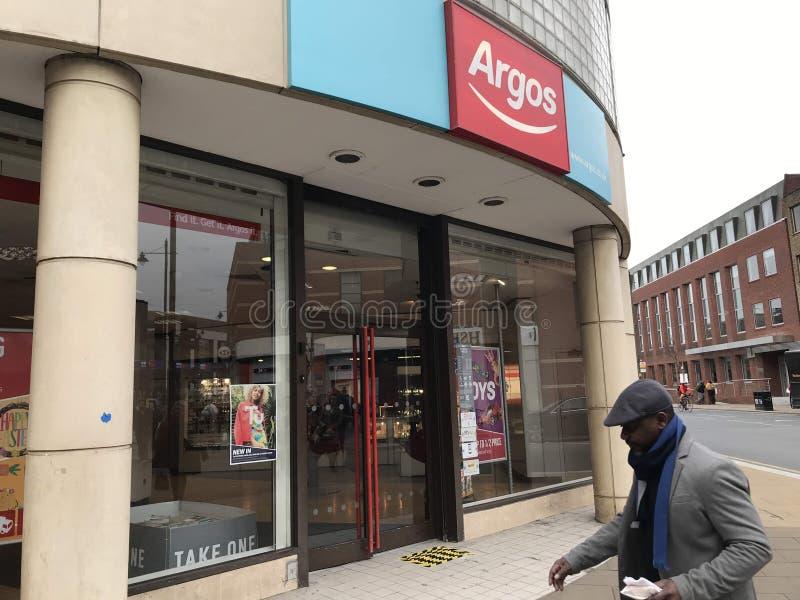 Magasin d'Argos photographie stock libre de droits
