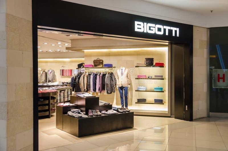 Magasin de Bigotti images libres de droits