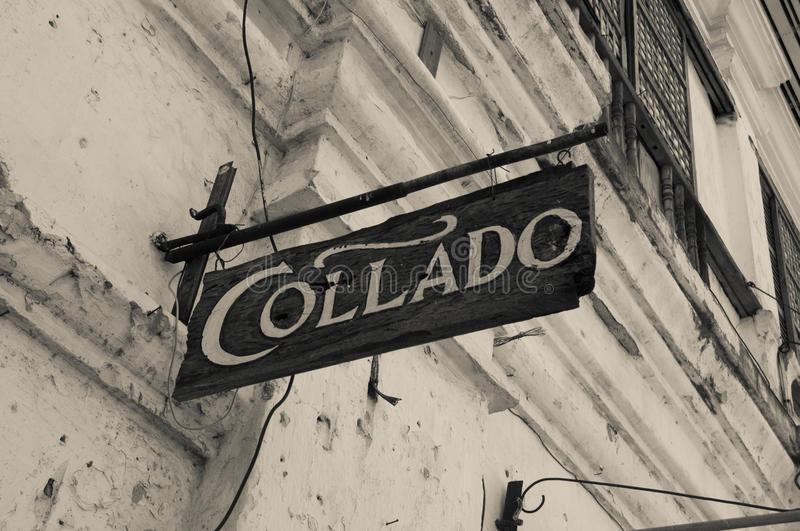 Magasin de Collado, Vigan, Philippines photos stock
