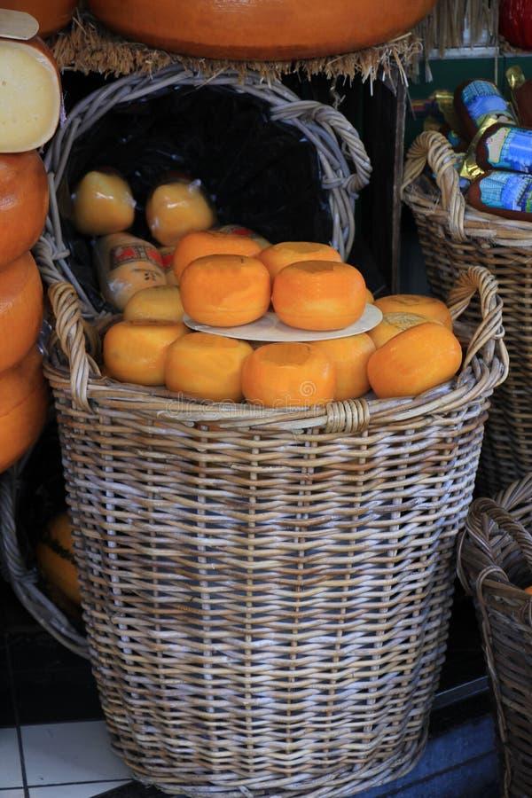 Magasin de fromage de Hollande photos libres de droits