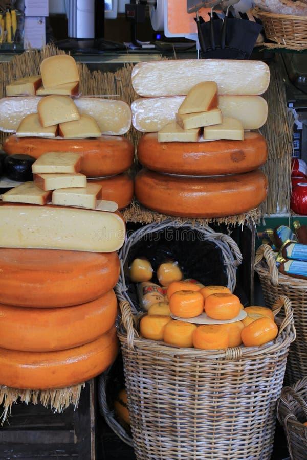 Magasin de fromage de Hollande photo stock