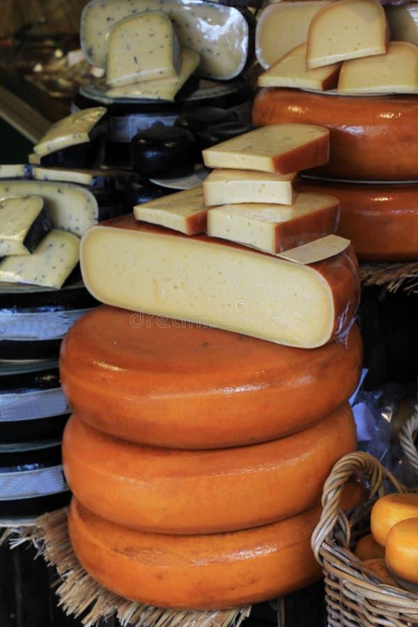 Magasin de fromage de Hollande image libre de droits