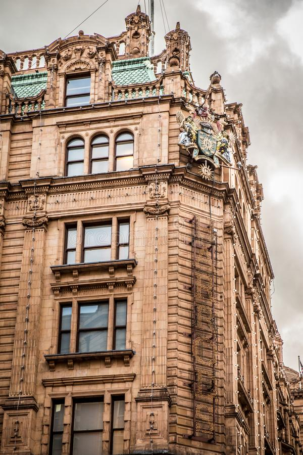 Magasin de Harrods Londres Angleterre photo libre de droits