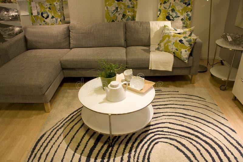 Magasin de meubles image libre de droits