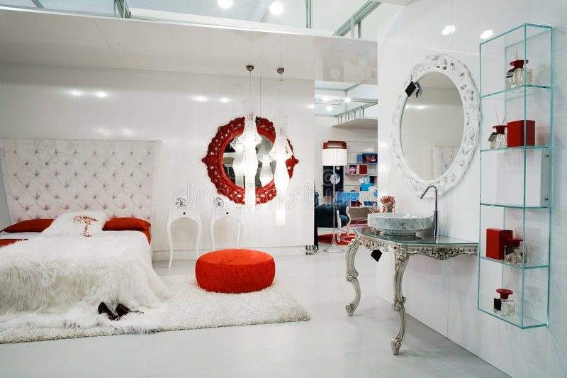 magasin de meubles image stock