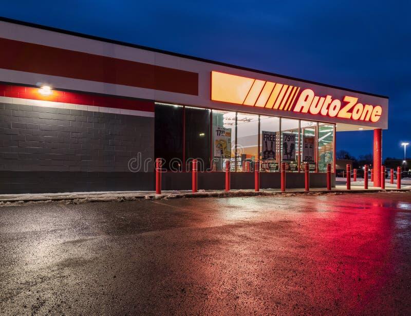 Magasin de pièces d'auto d'Autozone photos stock