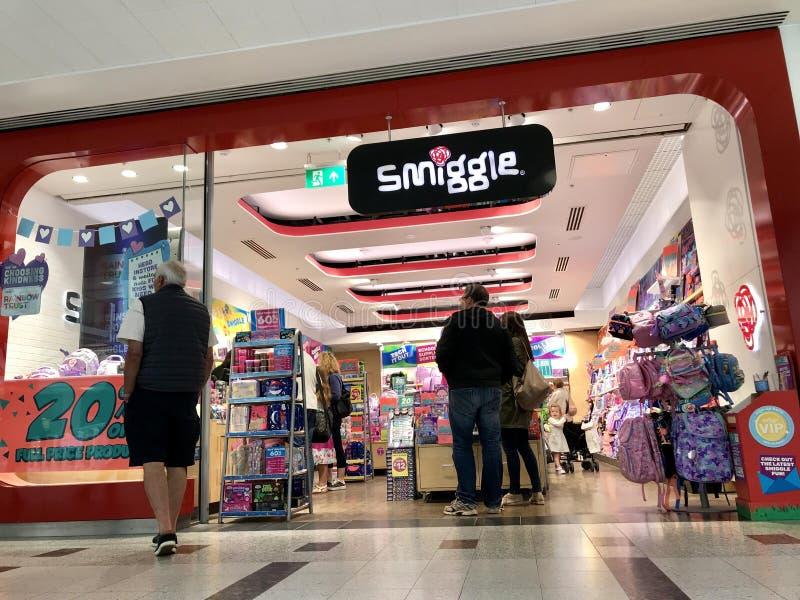 Magasin de Smiggle à Londres photo libre de droits