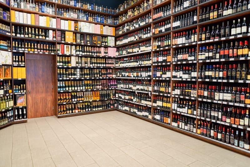 Magasin de vin photos stock