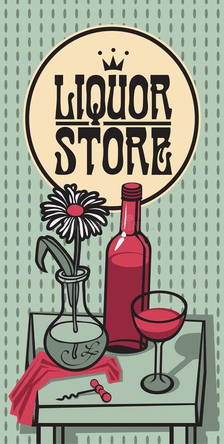 Download Magasin de vin illustration de vecteur. Illustration du fond - 56475876
