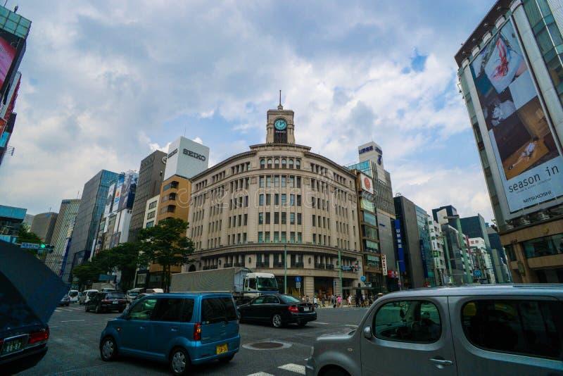 Magasin de WAKO, Ginza, Tokyo, Japon photos stock
