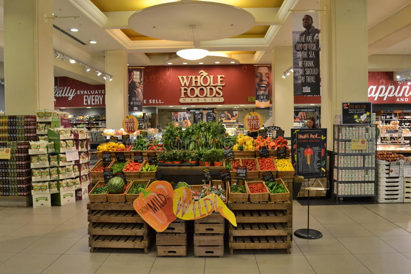 Magasin de Whole Foods photos stock