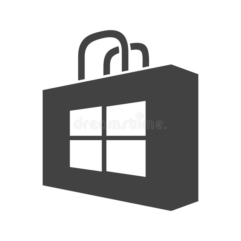 Magasin de Windows illustration de vecteur