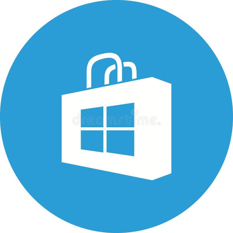 Magasin de Windows illustration libre de droits