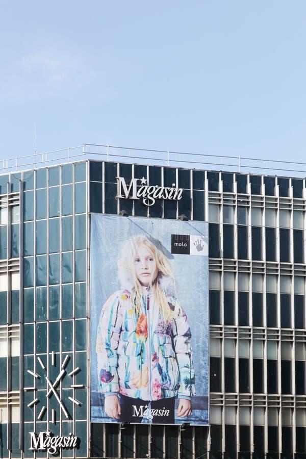 Magasin du Nord em Aarhus, Dinamarca fotografia de stock royalty free
